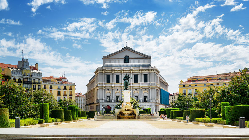 театр оперы в Мадриде