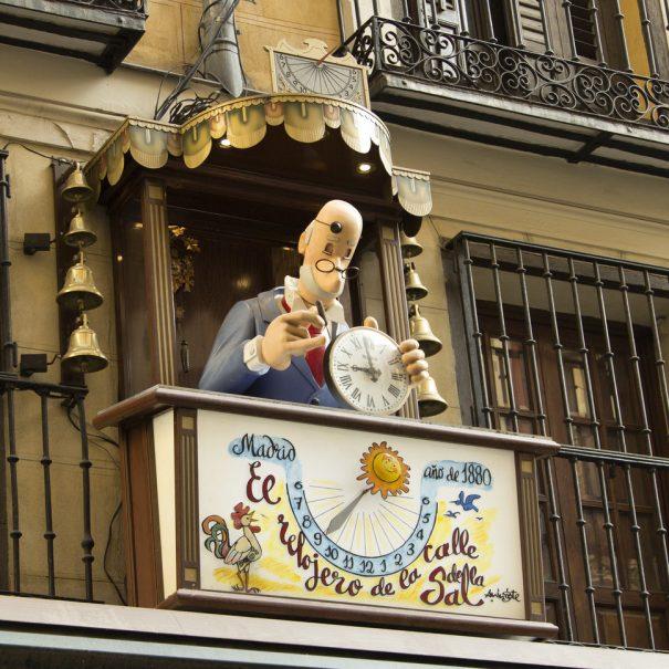 часовщик, Мадрид