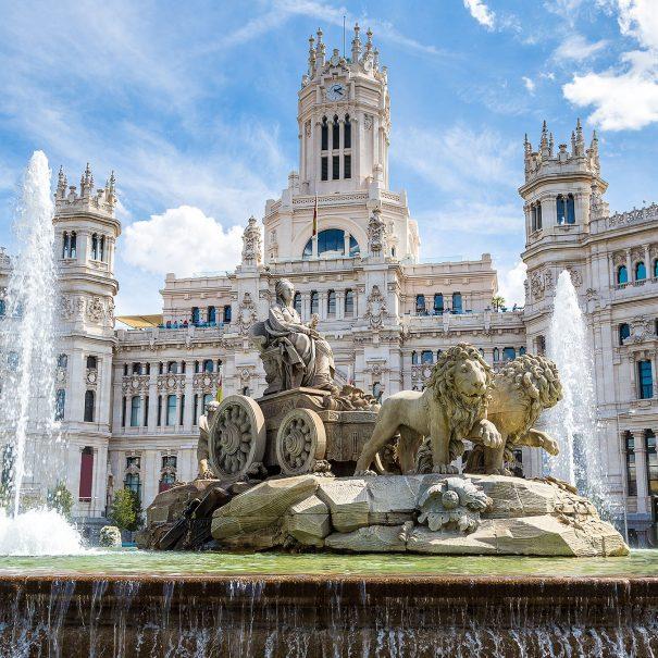 Площадь Сибелес Мадрид
