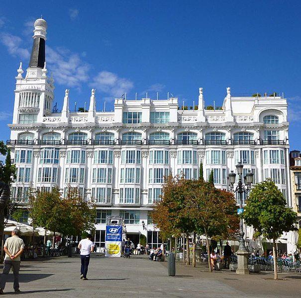 Площадь Санта Ана Мадрид