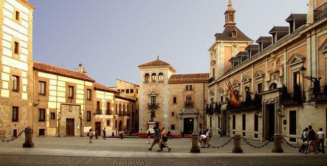 Площадь Ла-Вилья Мадрид