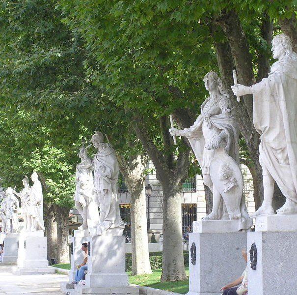 площадь Ориенте Мадрид бесплатно